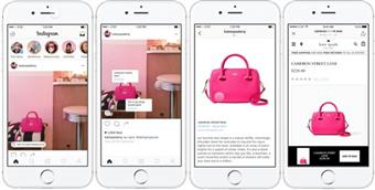 Instagram introduce i tag per lo shopping