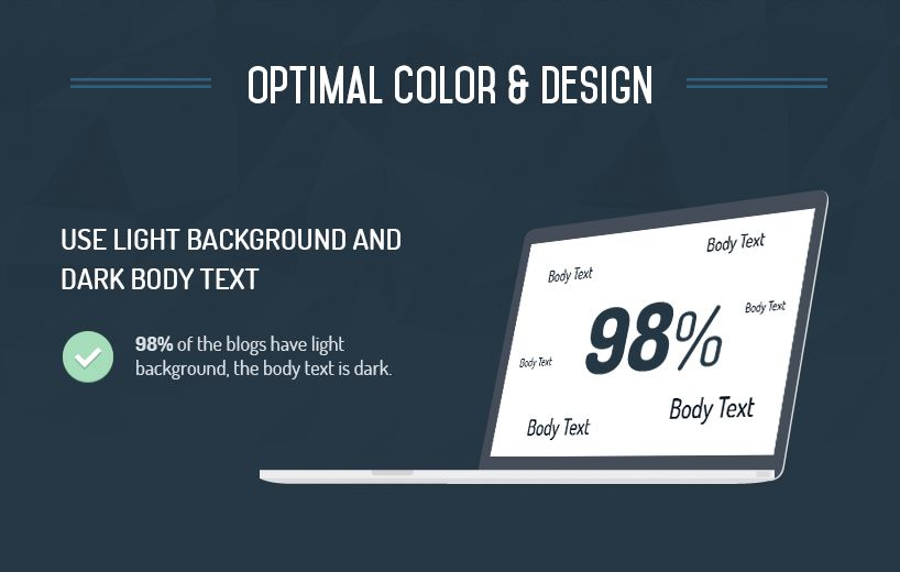 optimal color and design